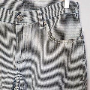 LEVI'S 511 Slim Straight Rev Hickory Stripe Jeans
